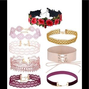 Bohemian Choker Bundle -8ct